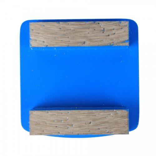 2 Square Segments Grinding Plate For Husqvarna Redi Lock