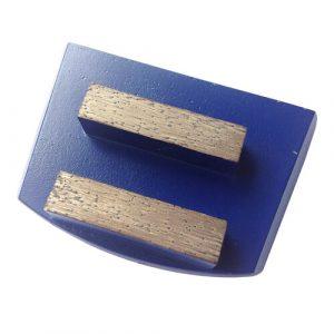 2 Square Segments Lavina Quick Change Grinding Plate