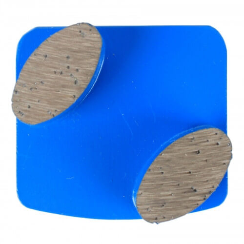 2 oval Segments Grinding Plate For Husqvarna Redi Lock