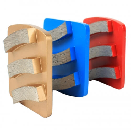 3 Segment Grinding Plate For Husqvarna Redi Lock