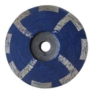 4 Seg resin filled diamond cup Wheel