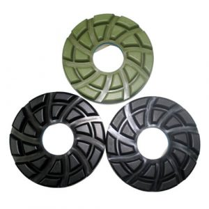 5 inch 125mm automatic machine snail lock polishing pad