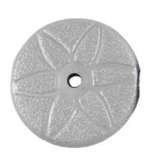 5 inch Velcro backed vacuum brazed polishing pad