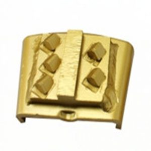 5pcs Segment PCD Metal Grinding Disc used for HTC floor grinder