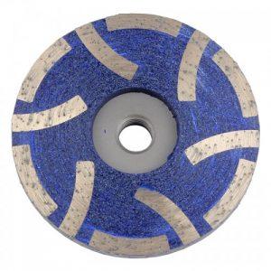 6 Seg resin filled diamond cup wheel