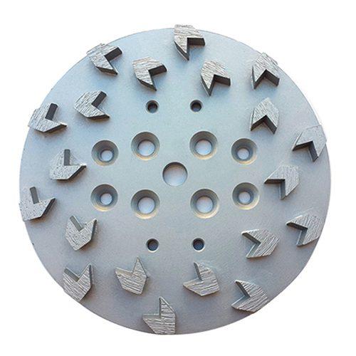 Arrow Type 10 Inch Concrete Floor Grinding Head