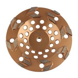 Arrow Type Concrete Grinding Wheel
