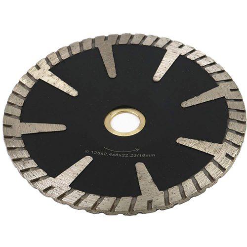 Continuous Rim Concave Turbo Cutting Blade