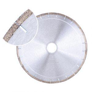 Crystallized glass stone blade