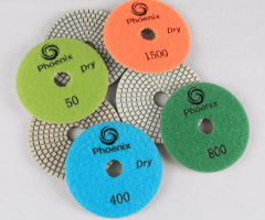 Diamond polishing pad detail-1