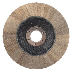 Electroplated diamond flap discs