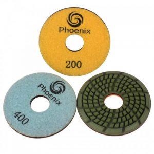 FLWP 3.5-3083 - 3.5 inch Stone Floor Polishing Pads