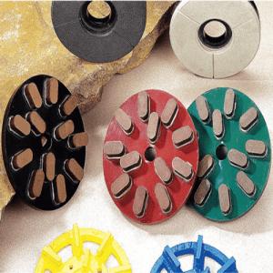 Radial arm granite polishing system(Grinding Disc)