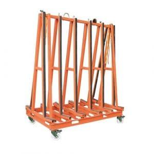 Raizi A Frame Transport Cart Racks
