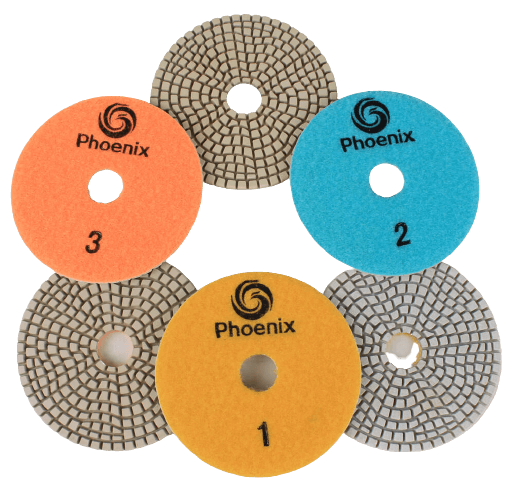 Raizi-Phoenix-3-Step-Drywet-Diamond-Polishing-Pad-1