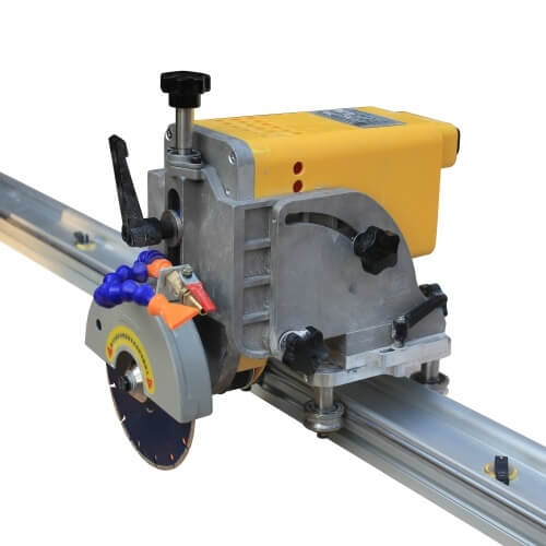 Raizi portable 45 degree miter cutting saw cutter chamfer machine with rail