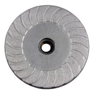 Rubber base Vacuum brazed Diamond Cup wheel