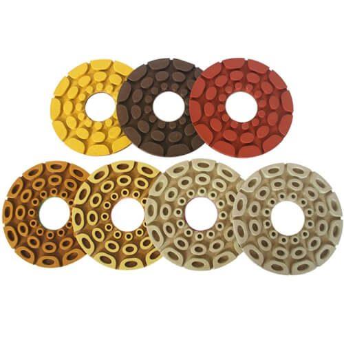 Shinex GEM Automatic Edge Diamond Polishing Pads for Straight and Beveled
