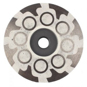 T+O type resin filled turbo diamond cup grinding wheel