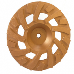 Tornado 7 inch F type diamond cup wheel