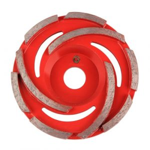 Z Type Cyclone Concrete grinding cup wheel