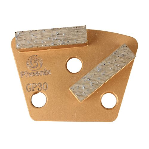 trapezoid grinding disc