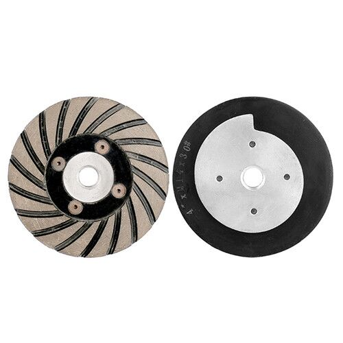 4 inch metal bond turbo diamond flat wheels