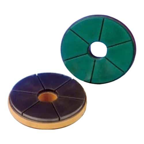 Raizi 4 Inch Bullnose Snail Lock Diamond polishing pad