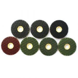 Raizi Snail Lock Straight Edge Diamond Polishing Pads