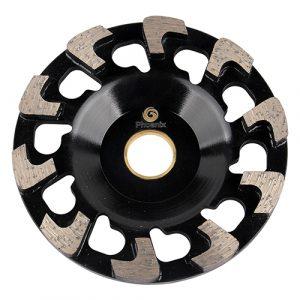 c segment cocrete cup wheel