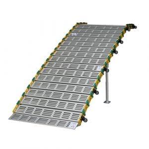 Portable & foldable aluminum ramps
